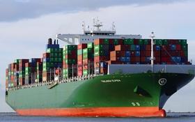 Картинка море, судно, контейнеровоз, THALASSA ELPIDA