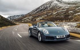 Картинка 911, Porsche, кабриолет, порше, каррера, Carrera S