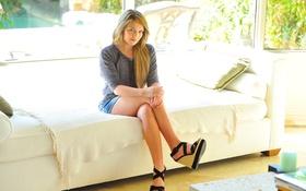 Картинка взгляд, диван, модель, интерьер, Casie