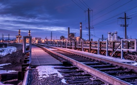 Обои Denver, Commercial Track, infrastructure
