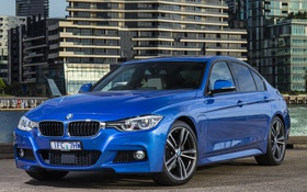 Картинка бмв, BMW, седан, 3 series, F30, Sedan
