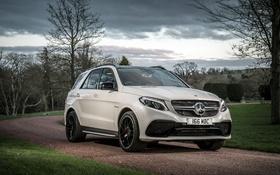 Обои Mercedes-Benz, мерседес, AMG, кроссовер, амг, GLE-Class, W166