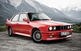 Обои 1986, E30, Coupe, BMW, купе, бмв