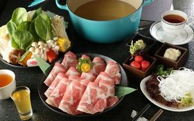 Обои чай, грибы, мясо, овощи, тайская кухня