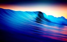 Обои море, краски, волна