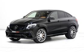 Картинка Mercedes-Benz, Brabus, мерседес, Coupe, C292, GLE-Class