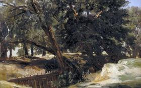 Обои пейзаж, картина, Карлос де Хаэс, Сан Висенте де ла Баркера
