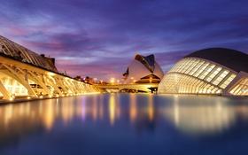 Обои небо, облака, вечер, освещение, синее, Испания, Spain