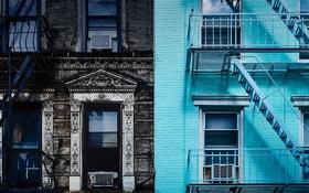 Обои Нью-Йорк, США, Манхэттен, Первая авеню