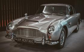 Обои Aston Martin, классика, передок, DB5