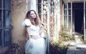 Картинка взгляд, кудри, Karina Bratkowska