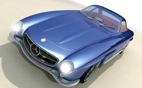 Обои купе, вектор, concept, Mercedes-Benzs