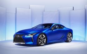 Обои Lexus, лексус, синий, седан