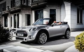 Обои Mini, Cooper, мини, кабриолет, купер, Cabrio, F57