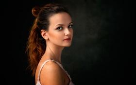 Обои прелесть, Dennis Drozhzhin, макияж, портрет, Валерия