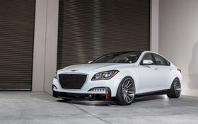 Обои Hyundai, Sedan, Genesis, 2014, ARK Performance