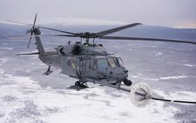 Обои дозаправка, HH-60G, Pave Hawk, вертолет