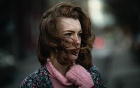 Картинка ветер, волосы, веснушки, Jesse Herzog, Delaney