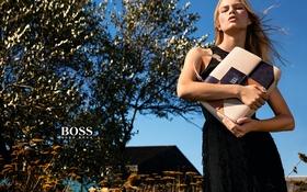 Обои Spring, Summer, Campaign, 2016, Hugo Boss, Anna Ewers