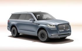 Обои Lincoln, Concept, фон, концепт, линкольн, навигатор, Navigator