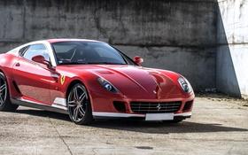 Обои Ferrari, суперкар, феррари, GTB, 599