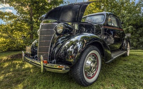Обои hdr, black, 1938 CHEVROLET, COUP