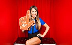 Картинка актриса, брюнетка, Lea Michele