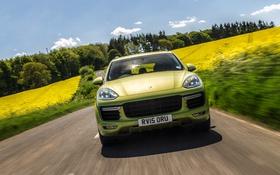 Обои Porsche, порше, Cayenne, кайен, GTS