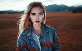 Обои Gorokhov, Katya, Hair, View, Germany, Body, Model
