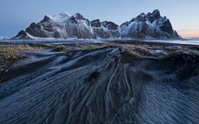 Обои горы, лёд, Iceland