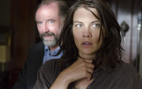 Обои Maggie, Gregory, The Walking Dead, Ходячие мертвецы, Lauren Cohan, Xander Berkeley