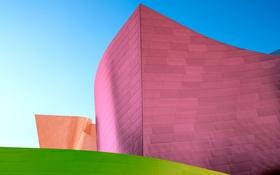 Обои краски, дома, архитектура