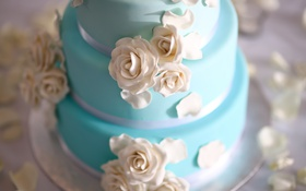 Обои торт, десерт, свадебный