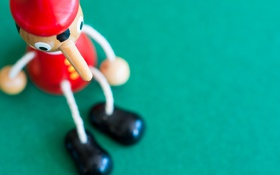 Обои фон, игрушка, Pinocchio