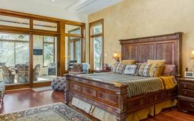 Обои дизайн, стиль, кровать, окно, спальня, декор