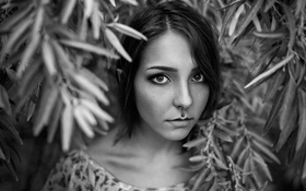 Картинка грудь, портрет, пирсинг, Настя, Дмитрий Перерва, Nastja