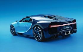 Обои Bugatti, avto, 2016, chiron, 21.