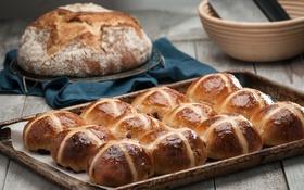 Обои хлеб, выпечка, булочки