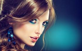 Картинка sexy, model, face, makeup