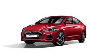 Обои белый фон, Hyundai, Elantra, хундай, элантра, Avante