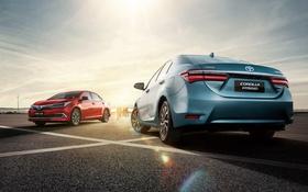 Обои Toyota, тойота, королла, Corolla