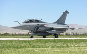 Обои истребитель, аэродром, многоцелевой, Dassault Rafale B