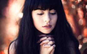 Картинка девушка, губки, мольба, gabriana