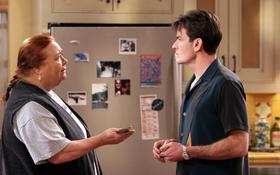 Обои сериал, актеры, персонажи, Чарли Шин, Чарли Харпер, Два с половиной человека, Two and a Half ...