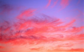 Обои небо, облака, закат, обои, заря