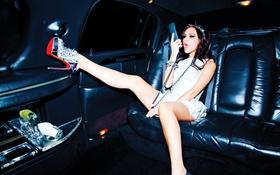 Картинка поза, платье, Victoria Beckham, певица