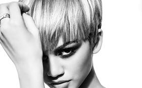 Обои взгляд, девушка, лицо, модель, волосы, певица, Zendaya Coleman