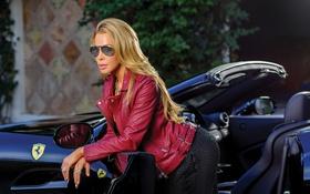 Картинка car, sexy, blonde, lisa hochstein