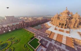 Обои Индия, храм, комплекс, Дели, Акшардхам
