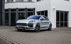 Картинка макан, порше, Porsche, Macan, TechArt